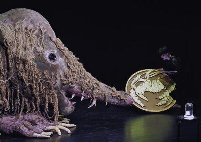 Die Kralle der Money Mouse (Theater im Pumpenhaus/Stefanie Oberhoff)